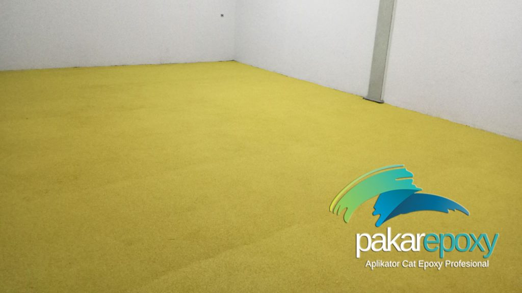 epoxy mortar warna kuning pt. kievit indonesia